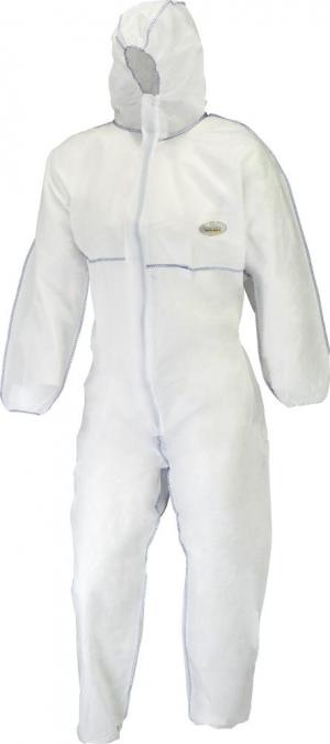 Odzież ochronna Kombinezon SMS-1, rozmiar M, biały biały