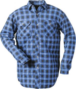 Bluzy Koszula termiczna, roz. 2XL, w niebieską kratę 2xl,