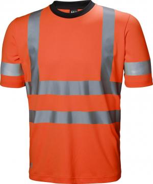 Odzież ochronna Koszulka ostrzegawcza ADDVIS, rozmiar L, pomarańczowy ostrzegawczy addvis,