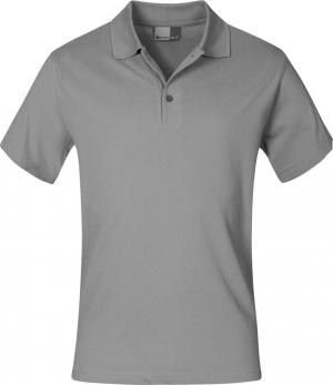 T-Shirt Koszulka polo, rozmiar L, jasnoszara jasnoszara