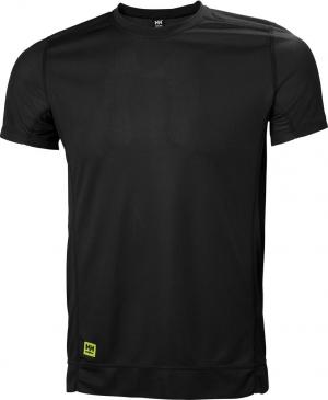 T-Shirt Koszulka z krótkim rękawem LIFA, rozmiar XL, czarna czarna,