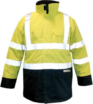 Odzież ochronna Kurtka M-Safe Multinorm żółto-niebieska, rozmiar 2XL kurtka