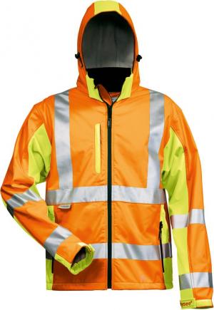 Odzież ochronna Kurtka ostrzegawcza Hoss, softshell, rozmiar M, żółta/pomarańczowa hoss,