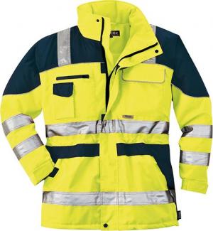 Odzież o wysokiej widoczności Kurtka ostrzegawcza, rozmiar L, żółty/niebieski kurtka