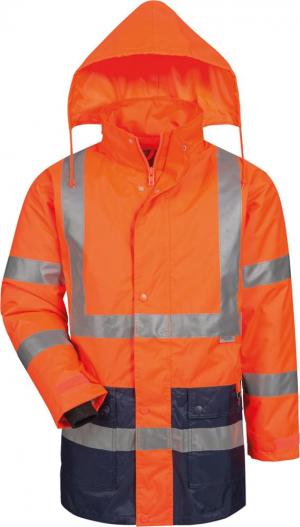 Odzież ochronna Kurtka ostrzegawcza, rozmiar S, pomarańczowy/niebieski kurtka