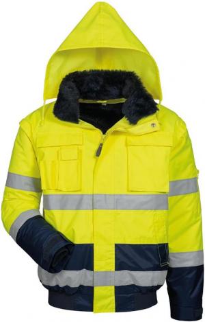 Odzież ochronna Kurtka ostrzegawcza Siegfried, rozmiar M, żółty/navy kurtka