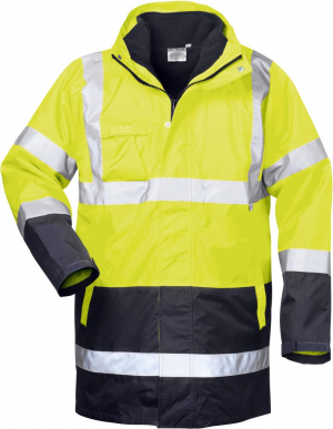 Odzież ochronna Kurtka ostrzegawcza Spencer, rozmiar 2XL, żółto-bordowy 2xl,