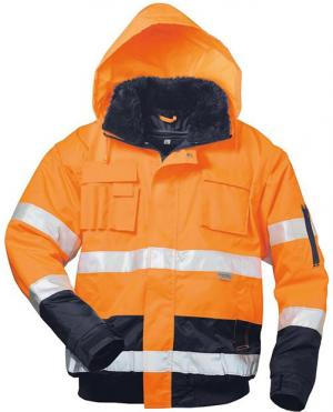 Odzież ochronna Kurtka ostrzegawcza Volker, rozmiar S, pomarańczowa kurtka