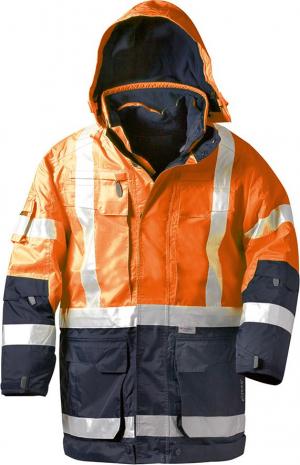 Odzież ochronna Kurtka ostrzegawcza Wallace, 4w1, rozmiar 3XL, pomarańczowy 3xl,