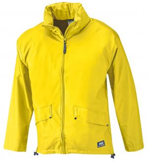 Kurtki i płaszcze Kurtka przeciwdeszczowa Voss, PU-Stretch, rozmiar L, żółty kurtka