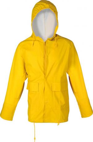 Odzież przeciwdeszczowa Kurtka, PU stretch, rozmiar 4/62-64, żółta 4/62-64,
