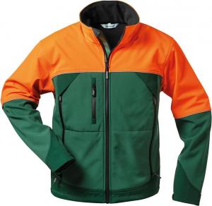 Odzież ochronna Kurtka Sanddorn, softshell, rozmiar 2XL, zielony/pomarańczowy 2xl,