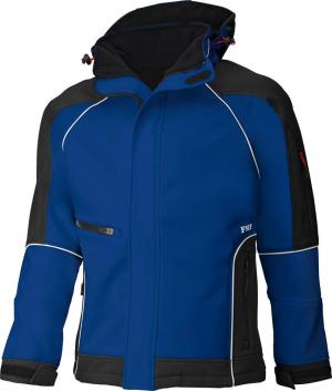 Kurtki i płaszcze Kurtka softshellowa WALTER, niebieski-czarny, rozmiar XL kurtka