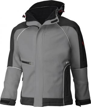 Kurtki i płaszcze Kurtka softshellowa WALTER, szaro-czarna, rozmiar XL kurtka