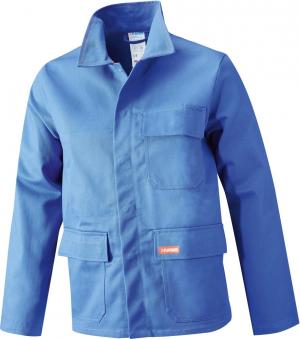 Odzież ochronna Kurtka spawalnicza, rozmiar 56, 360 g/m², błękit królewski błękit