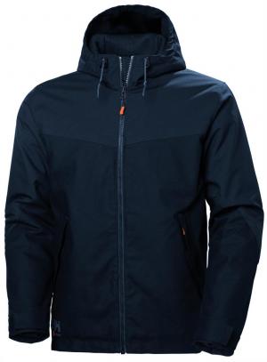 Kurtki i płaszcze Kurtka zimowa Oxford rozmiar XL, navy kurtka