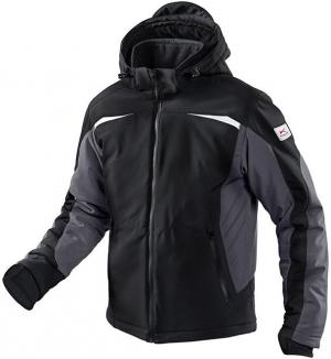 Kurtki i płaszcze Kurtka zimowa, softshell, rozmiar L, czarna/antracytowa czarna/antracytowa,