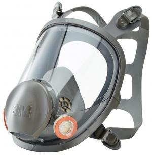 Ochrona dróg oddechowych Maska pełnotwarzowa 6800M, rozmiar M