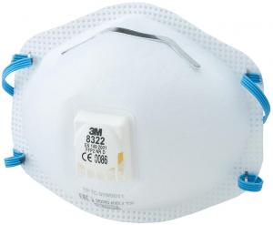 Ochrona dróg oddechowych Maska przeciwpyłowa 8322, FFP2 NR D 8322,
