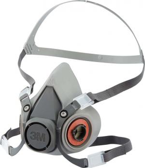 Ochrona dróg oddechowych Maska z podwójnym filtrem 6200, rozmiar M