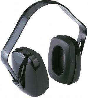 Ochrona słuchu Nauszniki przeciwhałasowe, 23 dB, czarne, FORTIS czarne