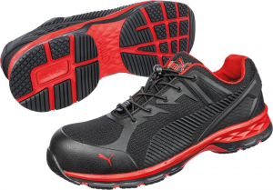 Ochrona stóp Niskie buty 643890 S1P ESD czarny/czerwony roz. 48 Puma 643890
