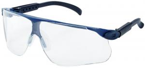 Ochrona oczu Okulary Maxim Sport, PC, niebieskie, przezroczyste