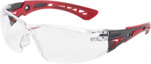 Ochrona oczu Okulary Rush+, przezroczyste
