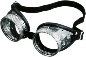 Ochrona oczu Okulary z pierścieniem śrubowym 717 G, szkło laminowane bezbarwne bezbarwne,