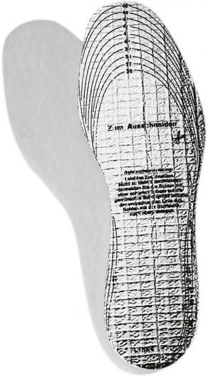 Ochrona stóp Podeszwy Alutherm do wycięcia, rozmiar 36-46, FORTIS 36-46,