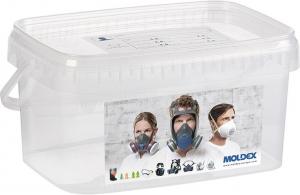 Ochrona dróg oddechowych Pojemnik do przechowywania półmasek