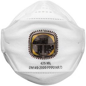 Ochrona dróg oddechowych Półmaska 425ML, FFP2, z zaworem opakowanie 10 szt.