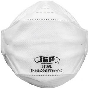 Ochrona dróg oddechowych Półmaska 431ML, FFP3, Opakowanie 10 szt.