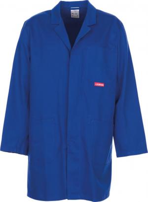 Kurtki i płaszcze Profesjonalny płaszcz, 100% bawełna, 290g/m², rozmiar 48, niebieski królewski 100,