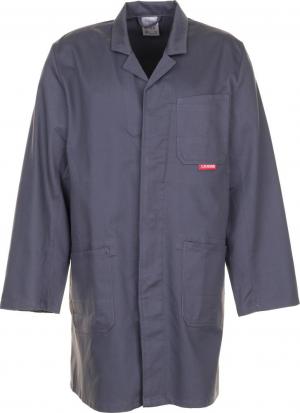 Kurtki i płaszcze Profesjonalny płaszcz, 100% bawełna, 290g/m², rozmiar 48, szary 100,