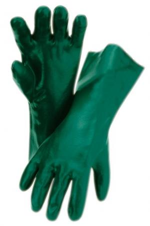 Ochrona rąk Rękawice 628, dł. 28 cm, rozmiar 10  – zielone –