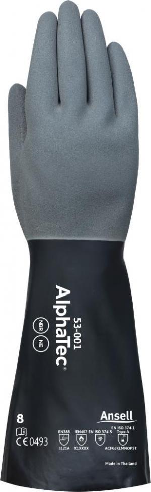 Ochrona rąk Rękawice AlphaTec 53-001, rozmiar 9 53-001,