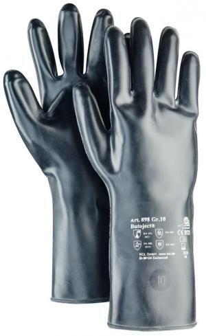 Ochrona rąk Rękawice Butoject 898, rozmiar 10, czarne