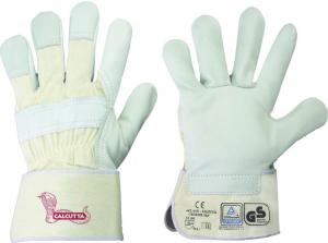 Ochrona rąk Rękawice Calcutta z pełnej skóry bydlęcej, rozmiar 10,5 10,5