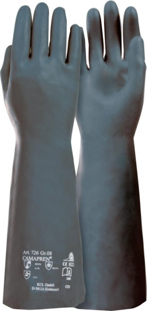 Ochrona rąk Rękawice Camapren 726 ochrona chemiczna, roz. 10 camapren