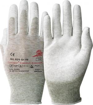 Ochrona rąk Rękawice Camapur Comfort 625, antystatyczne, rozmiar 10