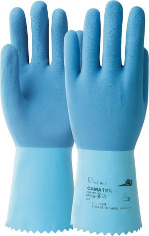 Ochrona rąk Rękawice Camatex 451, rozmiar 9, niebieskie