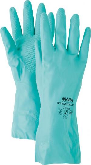 Ochrona rąk Rękawice chemiczne Ultranitril 492, roz. 6