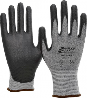 Ochrona rąk Rękawice chroniące przed przecięciem Nitras Cut 3, rozmiar 9 chroniące