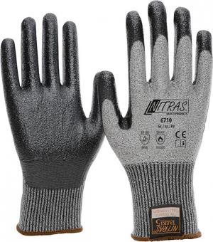 Ochrona rąk Rękawice chroniące przed przecięciem Taeki5, powlekane nitrylem, roz. 8 chroniące