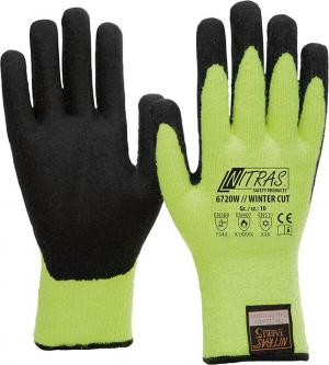 Ochrona rąk Rękawice chroniące przed przecięciem Winter Taeki6, Rozmiar 8 chroniące