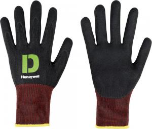 Ochrona rąk Rękawice Diamond Black Comfort C+G, rozmiar 11 black