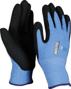 Odzież robocza Rękawice dziecięce junior niebieskie 6-8 lat dziecięce