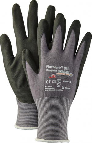 Ochrona rąk Rękawice FlexMech 663, rozmiar 7