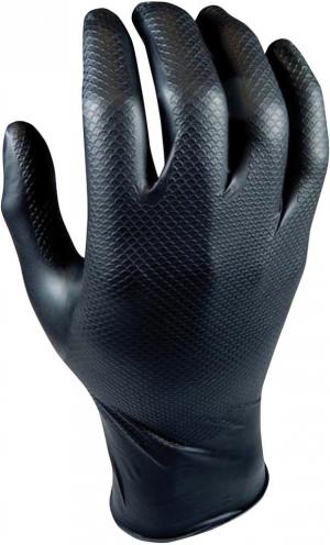 Ochrona rąk Rękawice Grippaz, rozmiar L, pomarańczowe (opak. 50 sztuk)